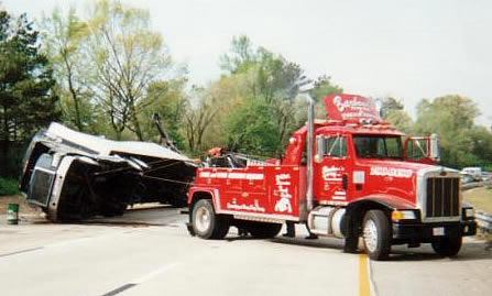 Heavy Truck Accident Recovery & Towing